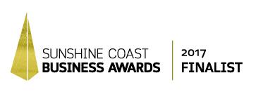 Sunshine Coast Business Awards 2017 Finalist Logo