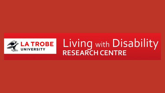 La Trobe University Living with Disability Research Centre Logo
